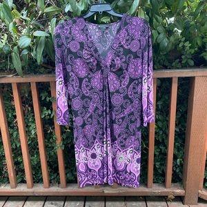 INC Bohemian Design Dress